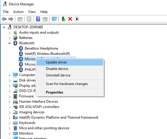 how to enable allow device to connect bluetooth